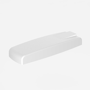 Pokrov s tipko SANIT za WC splakovalnik 928U beli