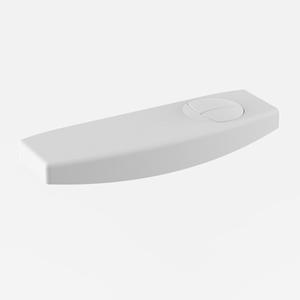 Pokrov s tipko SANIT za WC splakovalnik 951, beli