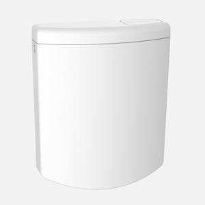 Splakovalnik SANIT Bonito duo s kompletno dodatno opremo, beli