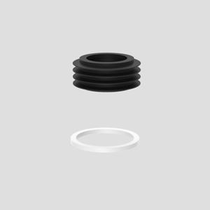 Splakovalno tesnilo SANIT s centrirnim obročem
