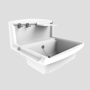 Umivalnik SANIT multiset beli