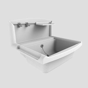 Umivalnik SANIT multiset granit