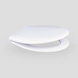 WC – deska SANIT 1002, s kovinskim tečajem, bela (duro)