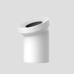 WC-Priključno koleno SANIT 22° fi 110, alpsko belo