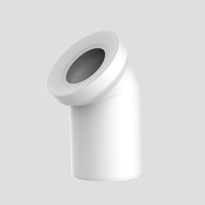 WC-Priključno koleno SANIT 45° fi 110, alpsko belo
