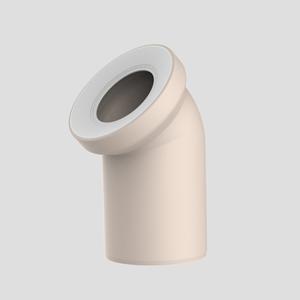 WC-Priključno koleno SANIT 45° fi 110, bahamabeige