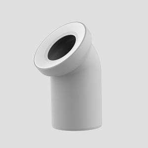 WC-Priključno koleno SANIT 45° fi 110, manhattan