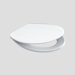 WC-deska SANIT 2000 (Termoplast) kovinski tečaji bela