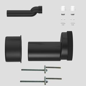 WC-premostitvena-priključna garnitura SANIT fi110, PE