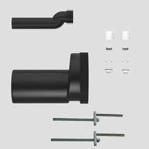 WC-premostitvena-priključna garnitura SANIT fi90, PE