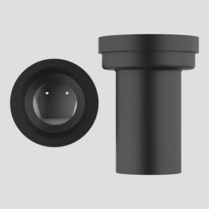 WC-priključna cev SANIT fi 90 z zaporno loputo (proti glodalcem)