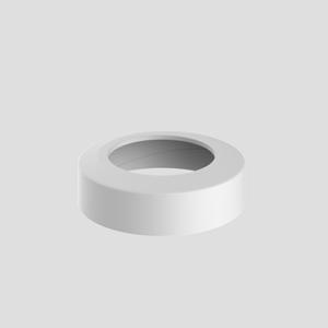 WC-ravna rozeta SANIT fi 110, alpsko bela