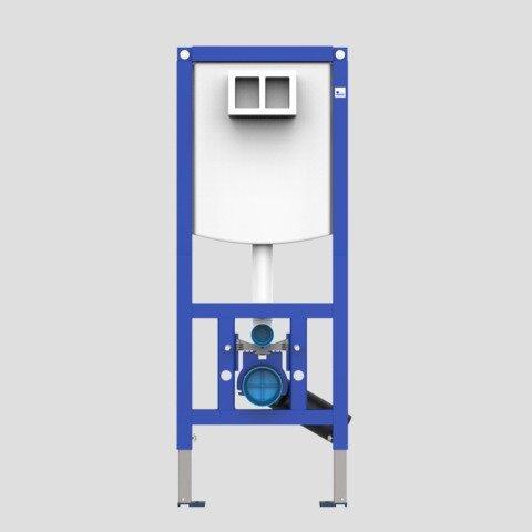 WC element SANIT INEO PLUS 450 z stenskimi nosilci